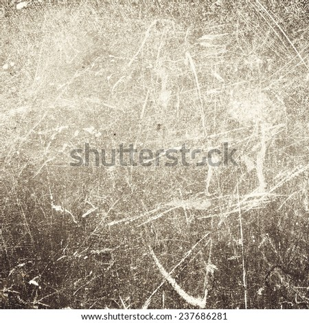 Abstract  background or textured backdrop with spotlight and scratches, brown gray  background for print, wallpaper, monochrome brochure, web, dark gradient  - stock photo