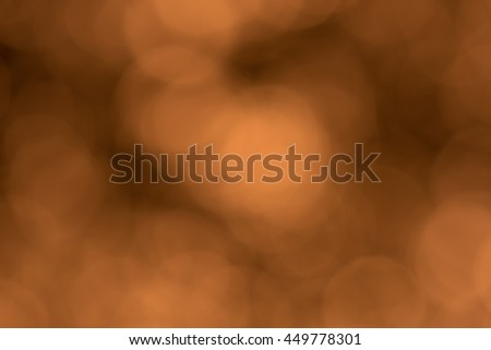 abstract background orange bokeh circles - stock photo