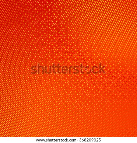 Abstract Background. Orange Floral Pattern. Yellow Structure Texture. Raster Illustration