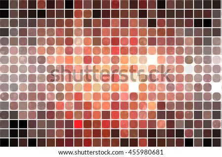 abstract background. orange mosaic