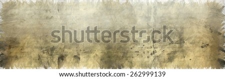 Abstract background painting with pencil marks. - stock photo