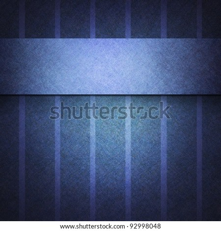 abstract background pattern with striped lines on vintage grunge background textured paper, blue background for elegant invitation or dark brochure template cover design, classic background - stock photo