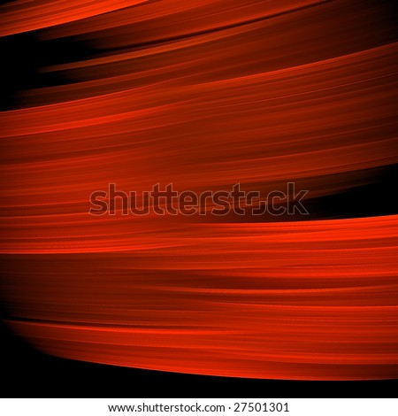 Abstract background. Red - black palette. Raster fractal graphics. - stock photo
