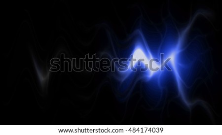 abstract background (rippling light from darkness)