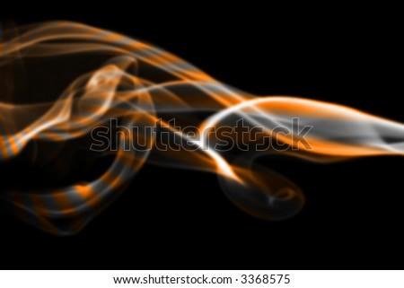 abstract background smoke - stock photo