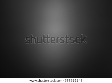 Abstract background. Smooth gradient background of black - stock photo