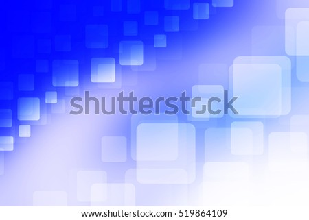 Abstract background square shape colorful. light blue white