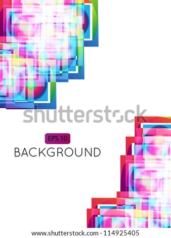 Abstract Background Squares 2