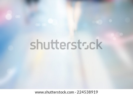 Abstract background, street walk,  pastel and blur concept - stock photo