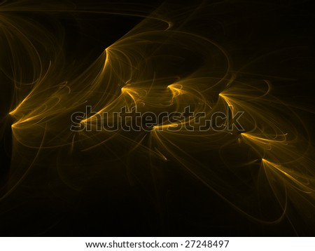 abstract background, stylized waves, place for text - stock photo