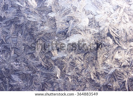 abstract background transparent brittle ice macro pattern - stock photo