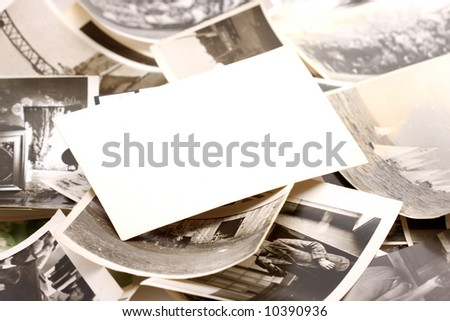 Abstract Background. Vintage Photo. - stock photo
