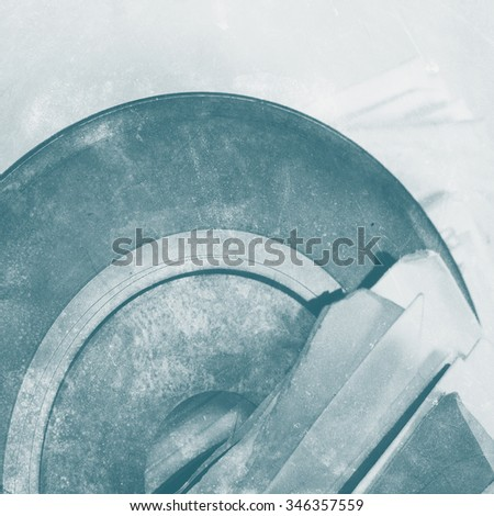 Abstract  background - vinyl on blurred background