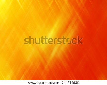 Abstract background. Vivid yellow and orange background with motion and blur effect. - stock photo