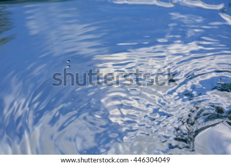 abstract background, water - stock photo