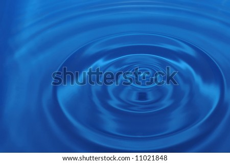 Abstract background, water, blue,  fantastic whirl, wheel