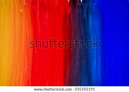 Abstract background, watercolor illustration - stock photo