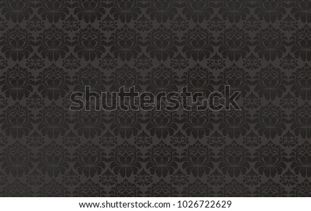 Abstract background with a floral pattern