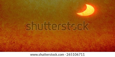 Abstract background with a golden glow to your desktop or cards for any opportunities - stock photo