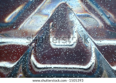 abstract background with air bubbles