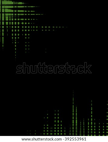 abstract background with black and green color