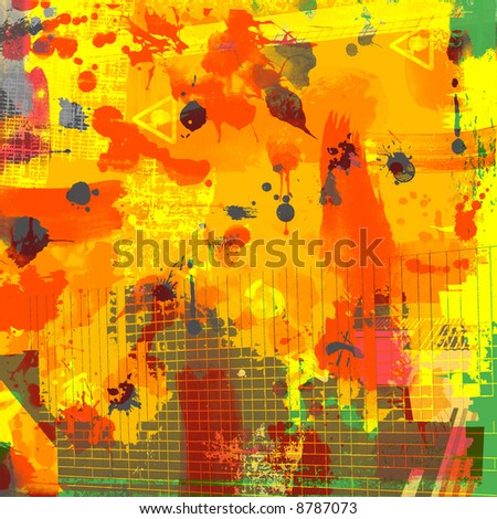 abstract background with blood