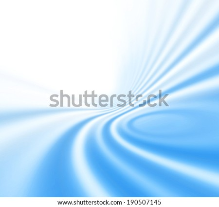 Abstract background with blue ripples - stock photo