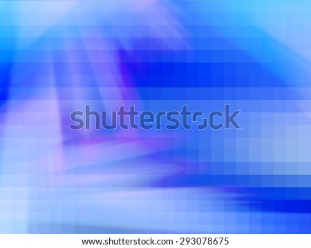 Abstract Background with blue, white and pink pixels, digital square pattern