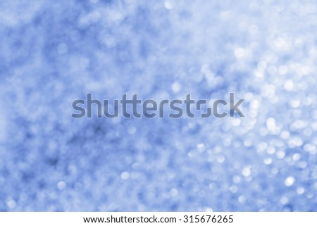 abstract background with bokeh blue style - stock photo