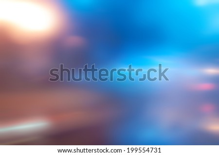 abstract background with bokeh defocused lights and shadow - stock photo