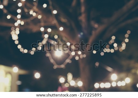 abstract background with bokeh defocused lights and shadow, blurred lights , party lights - stock photo