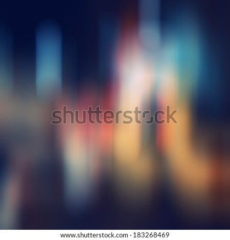 Abstract background with bokeh defocused lights and shadow.Multicolors bokeh.Vintage style. - stock photo