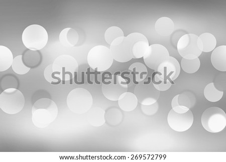 Abstract background with bokeh lights - stock photo