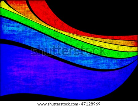 Abstract background with bright colour strips