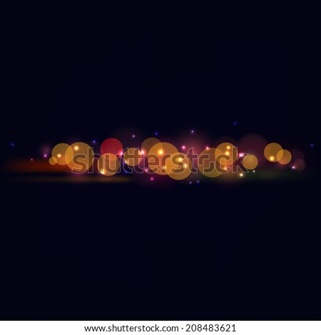 Abstract background with bright reflections on a dark background. raster copy