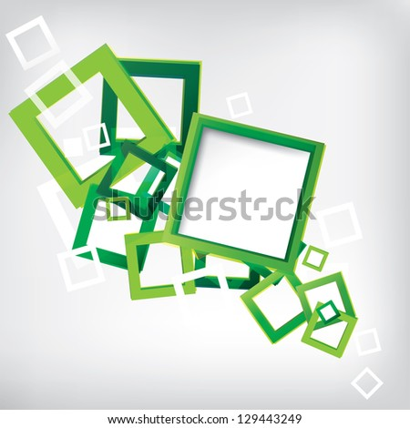 Abstract Background with colored elements - stock photo