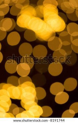 Abstract background with colored out of focus circles