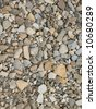 Abstract background with colorful stones - stock photo