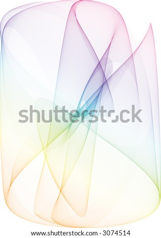 abstract background with colorfull smoke