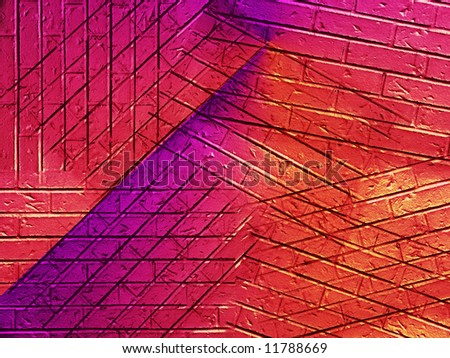 Abstract background with colors and  angles