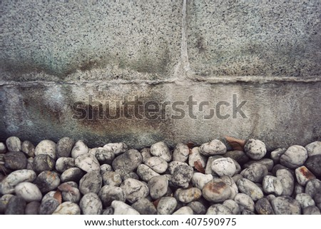 abstract background with detail texture of stone - stock photo