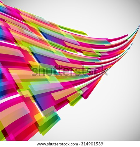 Abstract background with digital design elements. - stock photo