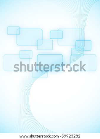 Abstract background with empty windows - stock photo