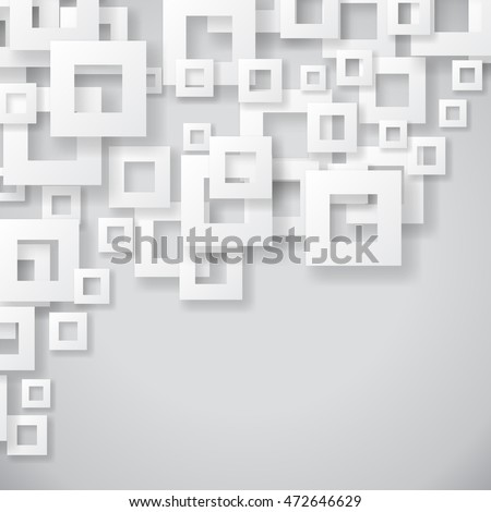 Abstract background with geometric shapes. Illustration