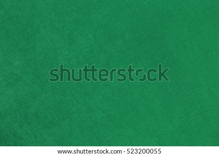 Abstract background with green texture, velvet fabric.