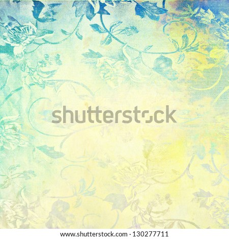 Abstract background with grunge texture. For art texture, grunge design, and vintage paper / border frame - stock photo