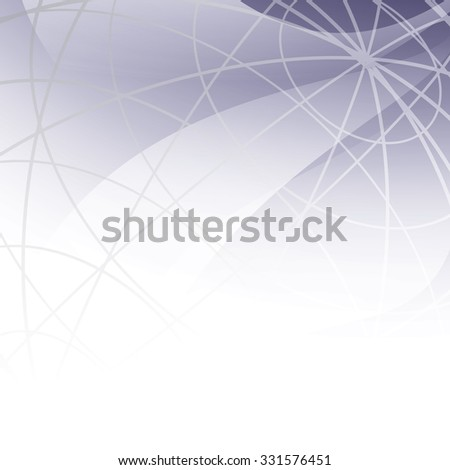 abstract background with meridians - stock photo
