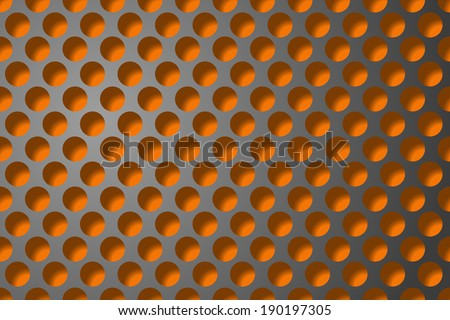 abstract background with metallic grill. - stock photo