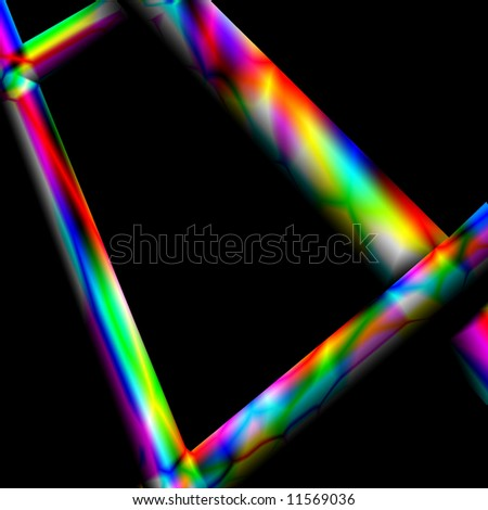 Abstract background with multicolored lights