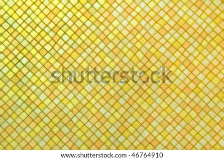 abstract background with multicolored mosaic tiles - stock photo